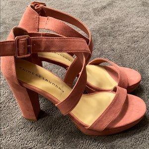 Chinese Laundry Thick Block Heel